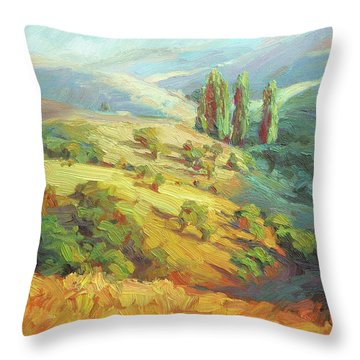 Lombardy Homestead Throw Pillow