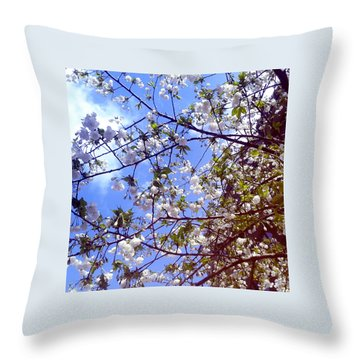 Lomography Spring Berlin Throw Pillow by Art Photography