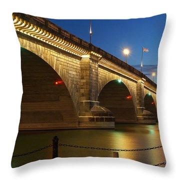 Twilight Reflections Throw Pillow