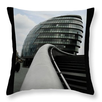 London City Hall Throw Pillow