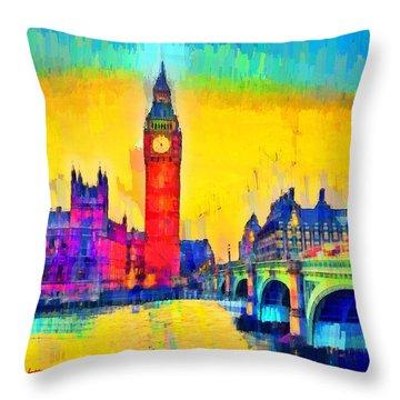 London Downtown - Da Throw Pillow