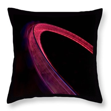 London Eye At Night Throw Pillow