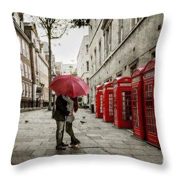 London Love Throw Pillow