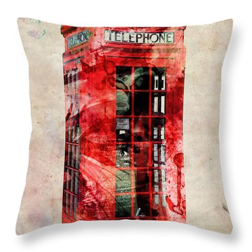 London Throw Pillows