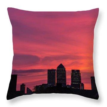 London Wakes 1 Throw Pillow
