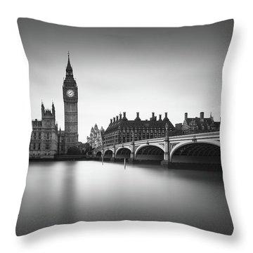 London, Westminster Bridge Throw Pillow