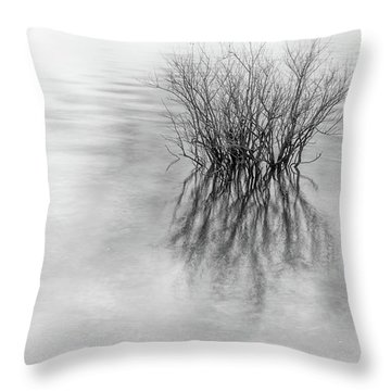 Lone Bush Throw Pillow