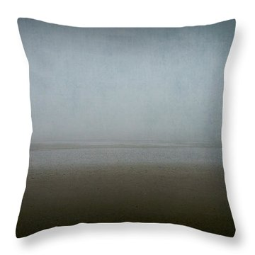 Lone Figure Throw Pillow