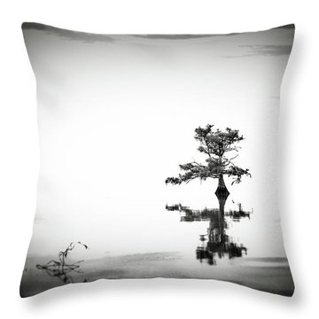 Loneliness Throw Pillow by Eduard Moldoveanu