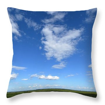 Lonely As A Cloud Throw Pillow