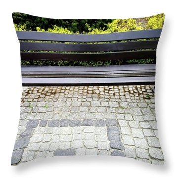 Lonely Bunch Throw Pillow