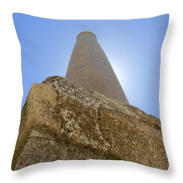 Lonely In Heliopolis Throw Pillow