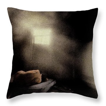 Lonely Nude Throw Pillow