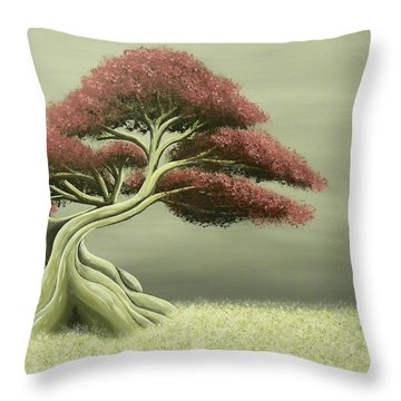 Lonely Soul Throw Pillow