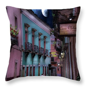 Lonely Street Throw Pillow