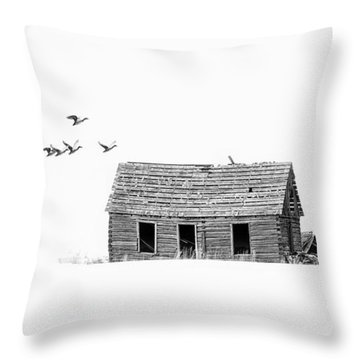 Lonesome But Peaceful Throw Pillow
