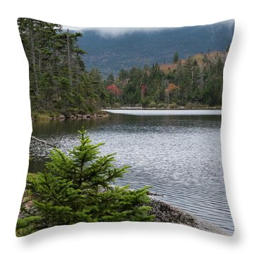 Lonesome Lake Throw Pillow