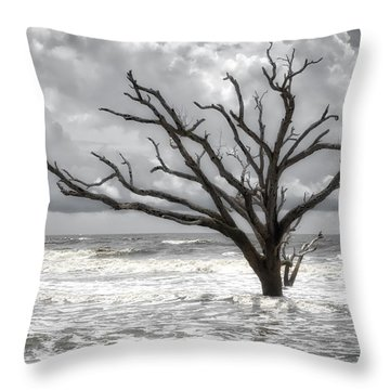 Throw Pillow featuring the photograph Lonesome by Michael Colgate