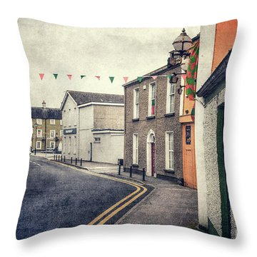 Lonesome Town Throw Pillow