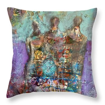 Long Ago And Faraway Throw Pillow