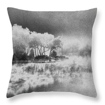 Throw Pillow featuring the photograph Long Ago Memory by Steven Huszar