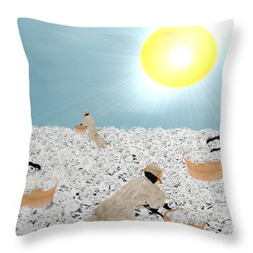 Long And Suffering Throw Pillow