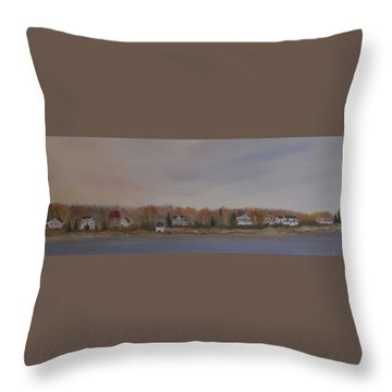 Long Cove Fall Throw Pillow
