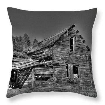 Long Forgotten Throw Pillow