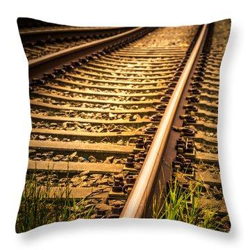 Long Gone Throw Pillow by Odd Jeppesen
