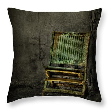 Long Is The Time. Hard Is The Road. Throw Pillow by Evelina Kremsdorf