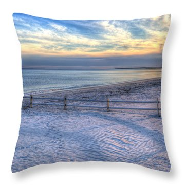 Throw Pillow featuring the photograph Long Shadows by Michelle Wiarda