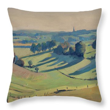 Long Shadows Schweiberg Throw Pillow