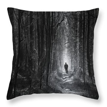 Long Way Home Throw Pillow by Bernd Hau