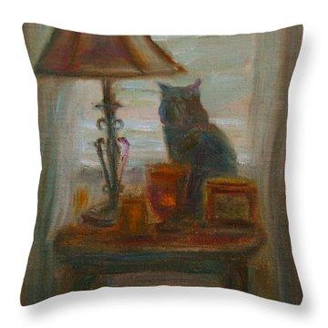 Longing- A Not-so-stillife Throw Pillow