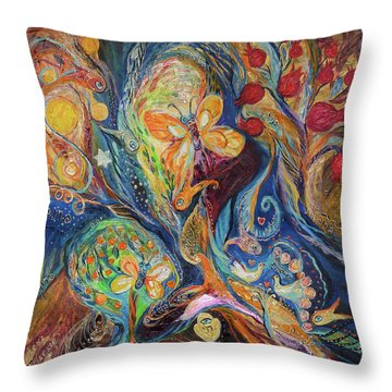Longing For Chagall Throw Pillow