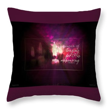 Longing For Him Throw Pillow