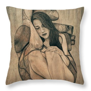 Longing For You Throw Pillow