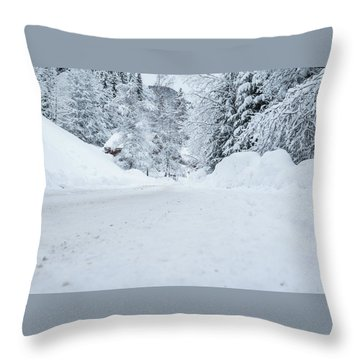 Lonly Road- Throw Pillow