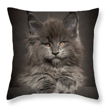 Look At Me Throw Pillow