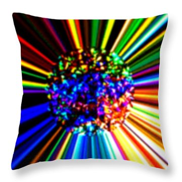 Look Forward To A Life Filled With Happiness Throw Pillow
