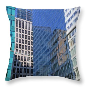 Look Through Any Window Throw Pillow