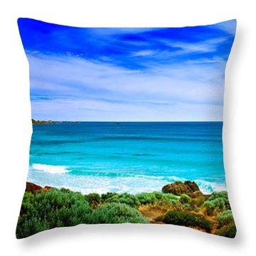 Look To The Horizon Throw Pillow by Az Jackson
