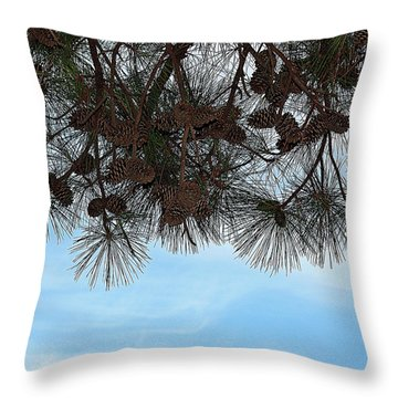 Throw Pillow featuring the photograph Look Up- Fine Art by KayeCee Spain