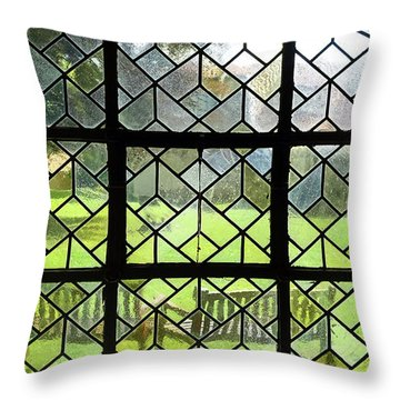 Looked Through The Window Throw Pillow