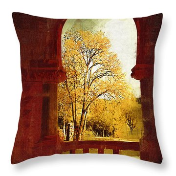 Lookin Out Throw Pillow