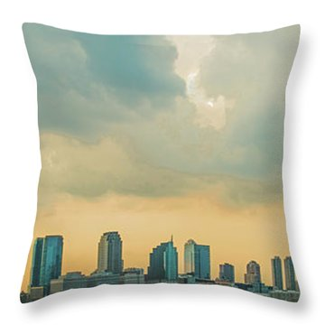 Looking At New Jersey Throw Pillow