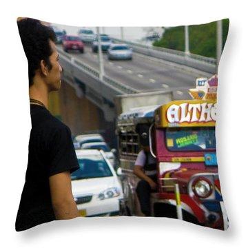 Looking Beyond Throw Pillow