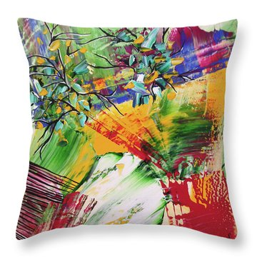 Looking Beyound The Present Throw Pillow