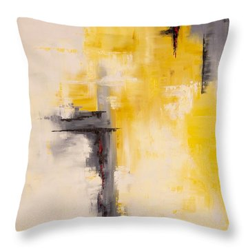 Looking East #1 Throw Pillow by Suzzanna Frank