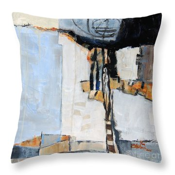 Looking For A Way Out Throw Pillow